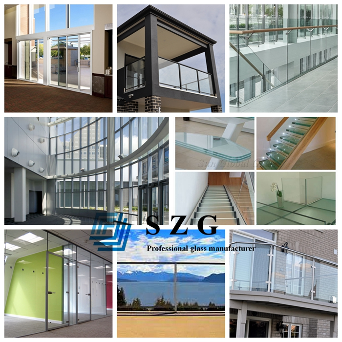 13.52mm hurricane proof glass, 6mm+1.52mm+6mm SGP laminated glass, 13.52mm low iron tempered laminated glass, SGP sentry laminated glass suppliers, SGP crystal laminated,  hurricane resistant glass, SGP sandwich glass