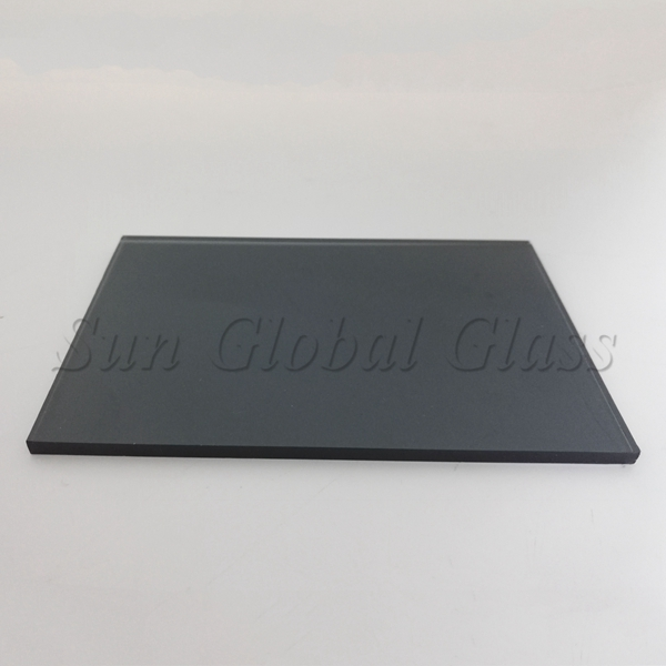 5mm dark grey float glass factory