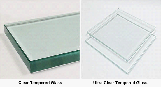ultra clear tempered glass