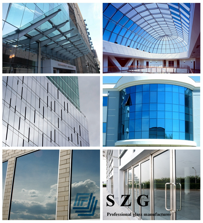 low e laminated glass application