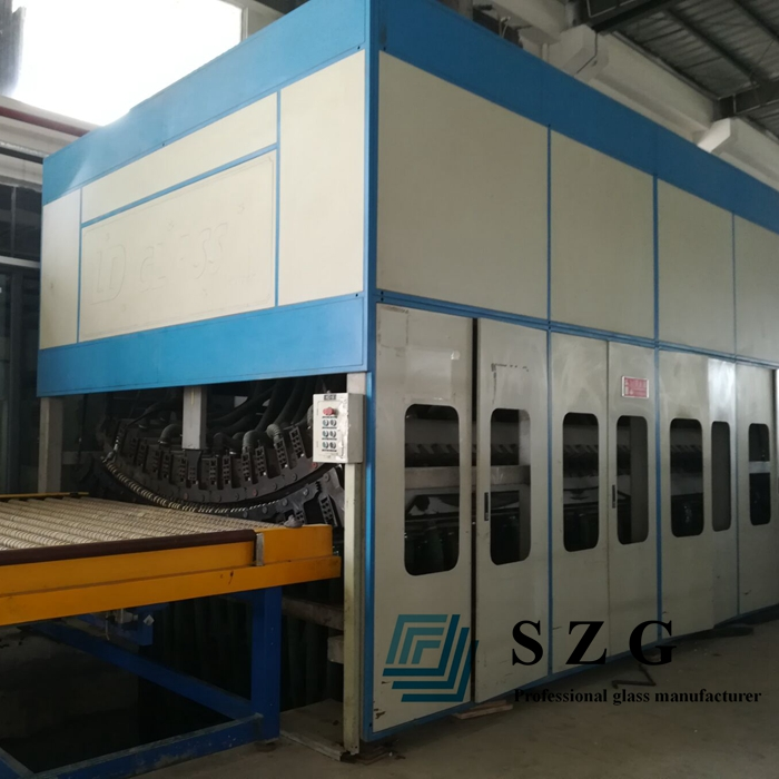 curved glass production machine