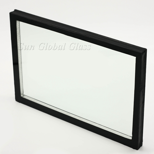 6mm+9A+6mm low e insulated glass for facade glass