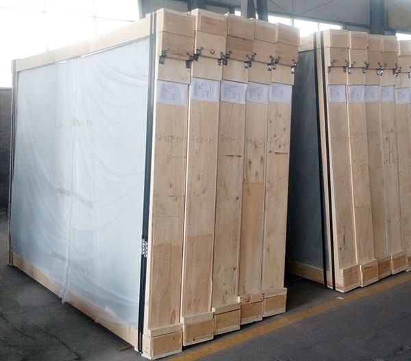 clear laminated glass 6.38 package