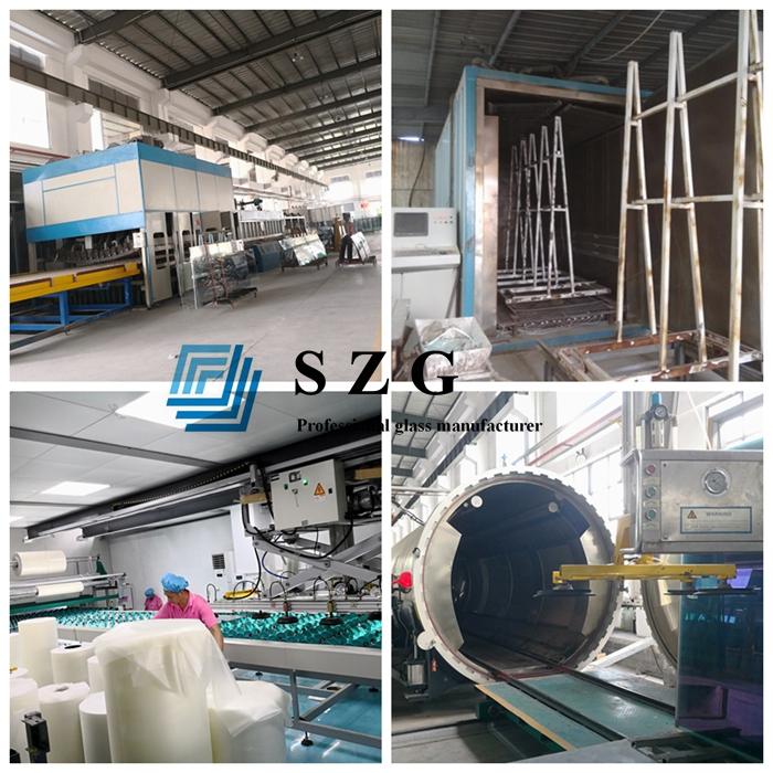 13.14mm HS tempered laminated glass, 6+6 heat soaked laminated glass, 13.14mm clear laminated glass, 6mm+6mm HS ESG VSG, laminated glass