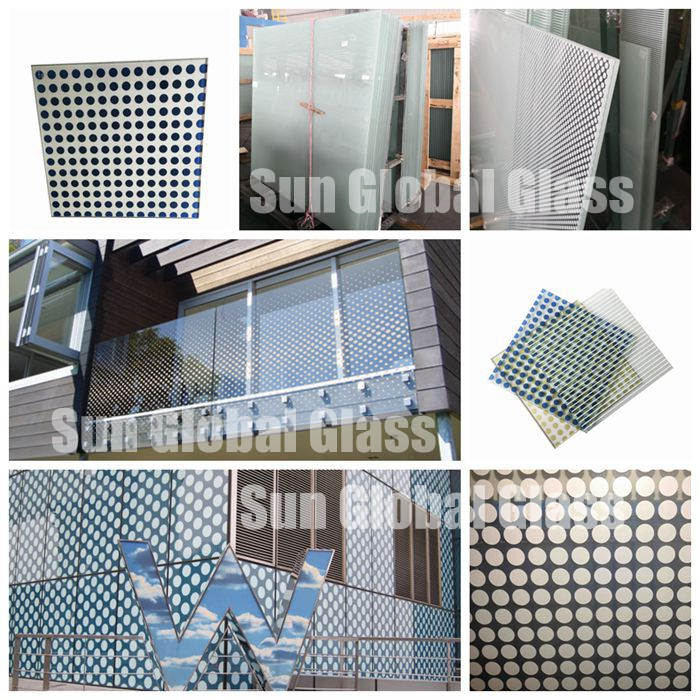 laminated printing glass application