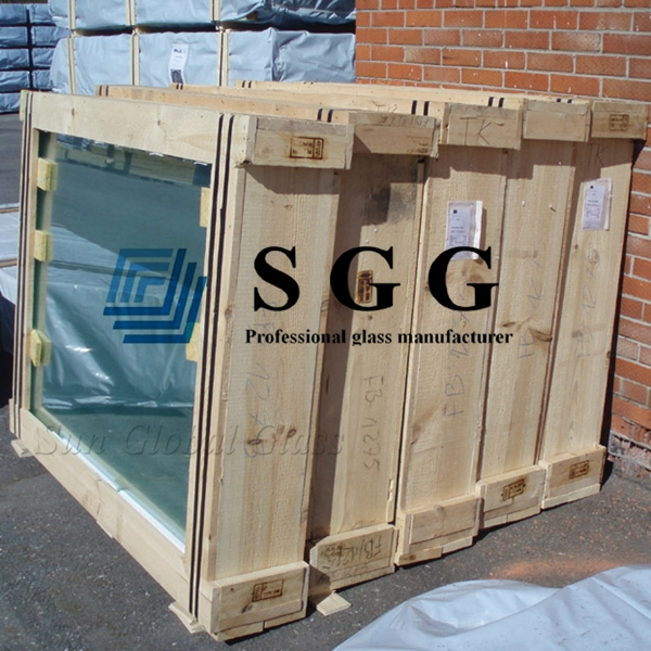 8.38mm blue laminated glass, 441 light blue laminated glass, 8.38 VSG glass prices, blue laminated glass 8.38 on sale, customized blue laminated glass sheet