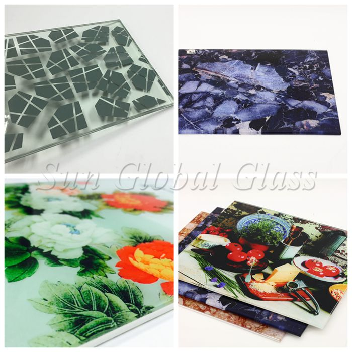 17.52mm toughened laminated glass, 17.52mm toughened glass, 8mm+8mm printing glass, 17.52mm printing sandwich glass, printing glass, silk screen printing laminated glass, hotel decorative glass