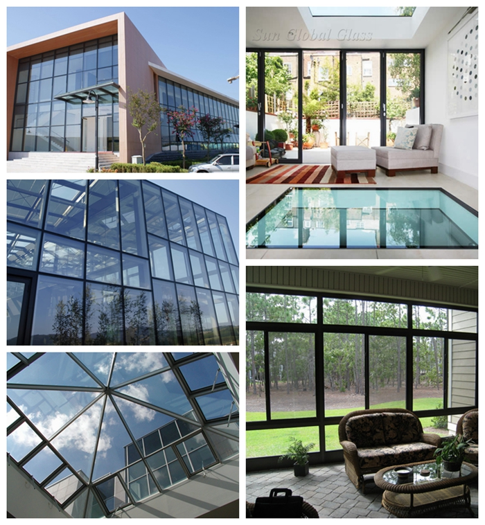 sound insulation glass, China glass factory, air gap insulated glass, insulating glass 16mm, insulated glass price, tempered double glazed
