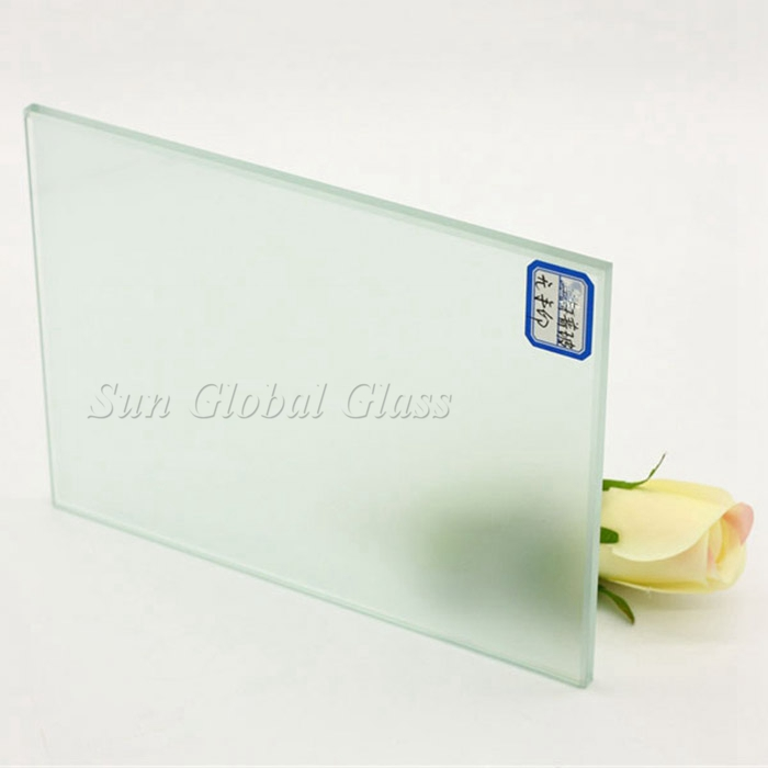 8mm frosted tempered glass