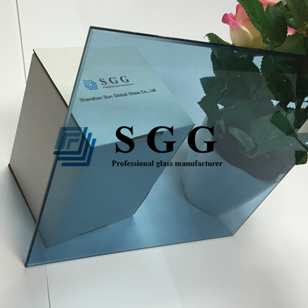 5mm light blue toughened glass, 5mm ford blue tempered glass, 5mm ford blue toughened glass