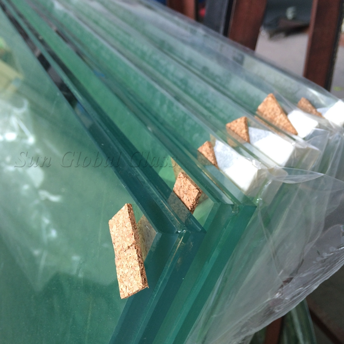 11.52mm curved laminated glass