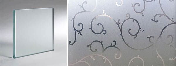 acid etched glass supplier
