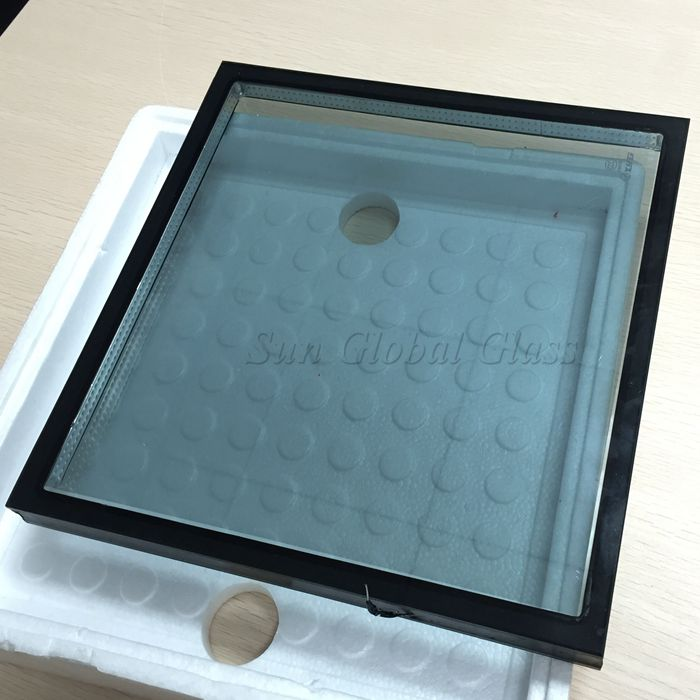 blue low E insulated glass