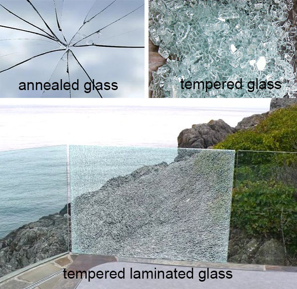 8mm+8mm light grey tempered laminated glass, 17.52mm light grey sandwich glass prices, 17.52mm toughened laminated glass, PVB sandwich glass