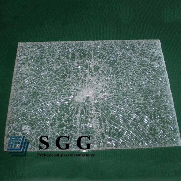 ice cracked laminated glass