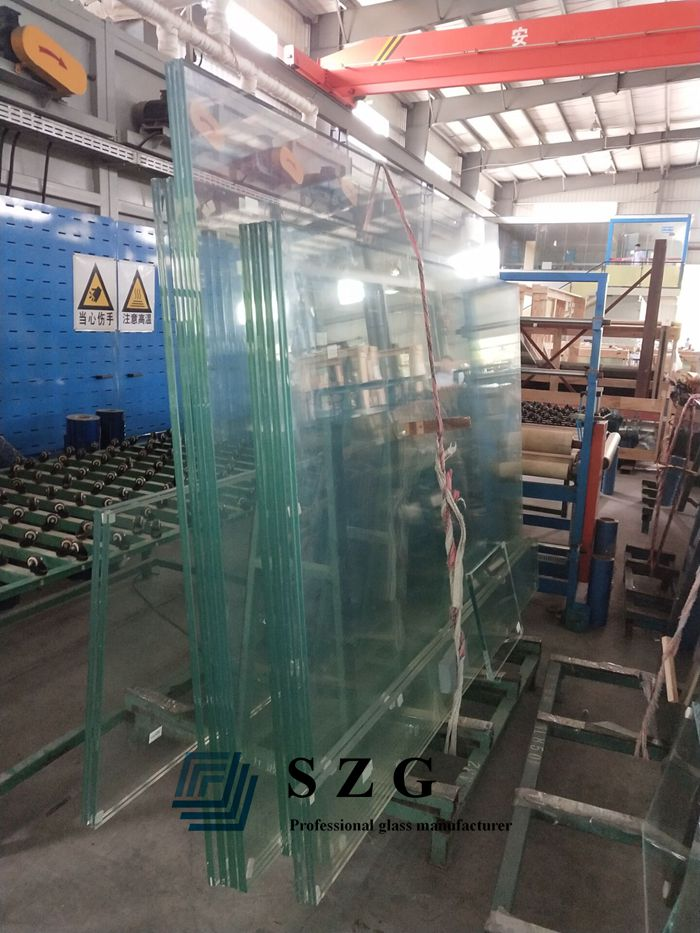 21.52mm sgp laminated glass