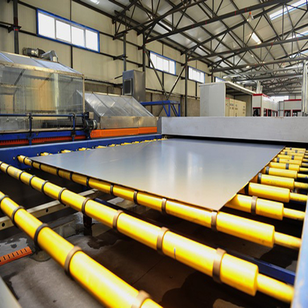 SGG silver mirror production line