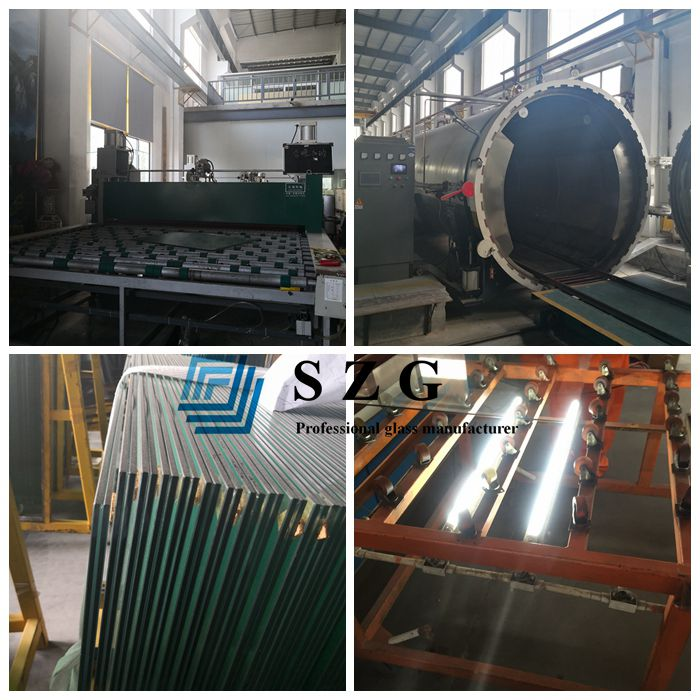 sgp laminated glass production