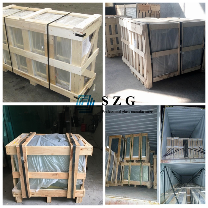 5+5 insulating glass, tempered insulated glass, 16mm ESG IGU, double glazing factory, insulated glass