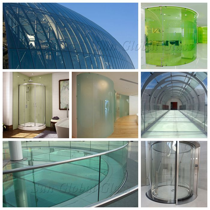 curved glass application