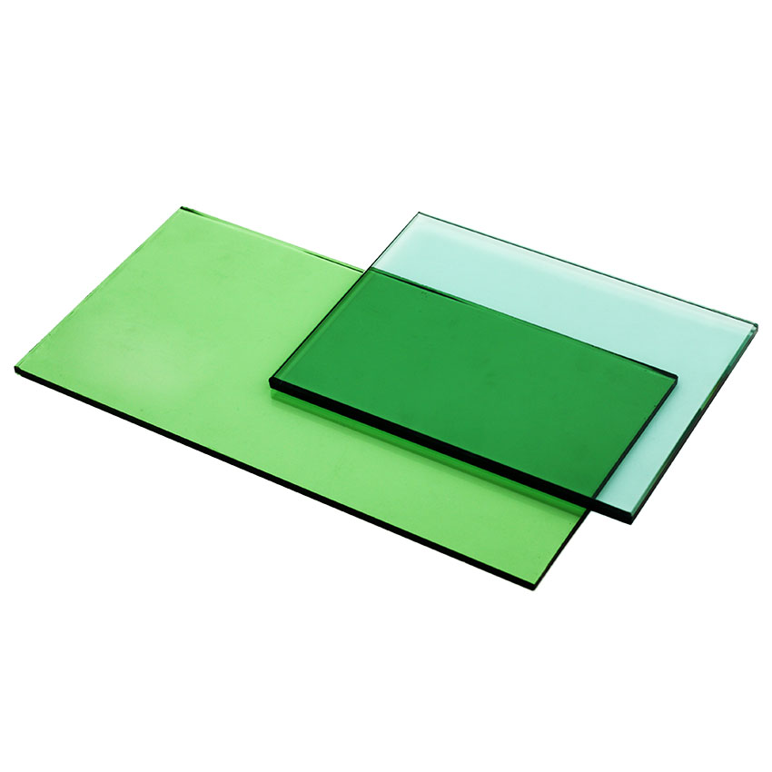 green tinted float glass 4mm