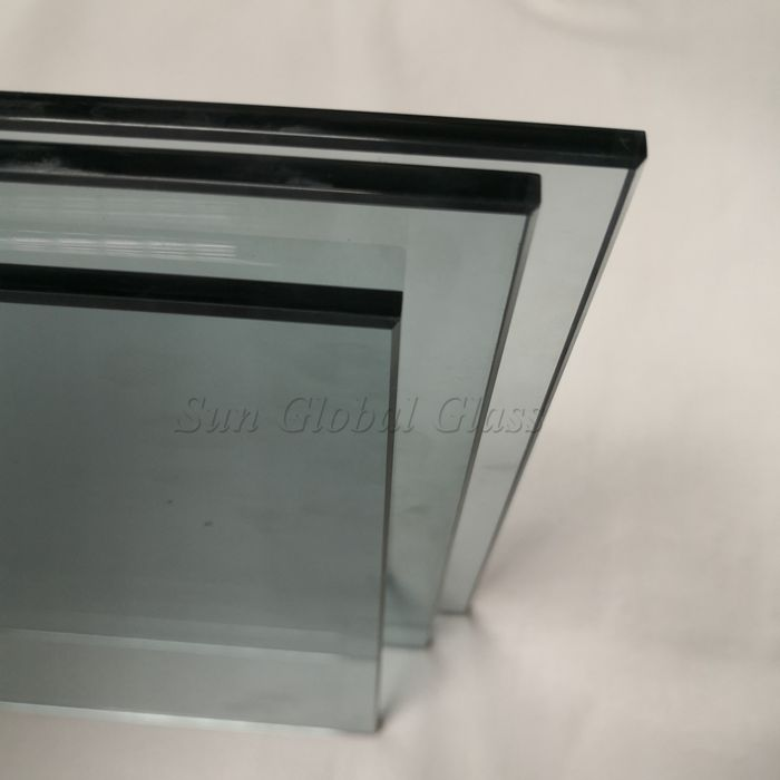 6mm crystal gray safety glass