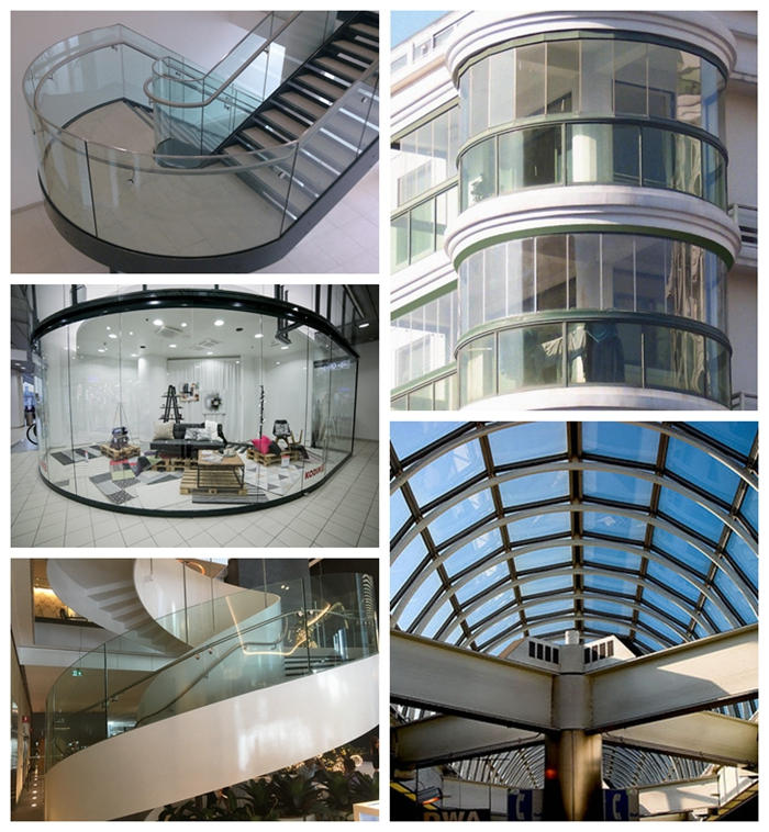 8mm curved glass, 8mm heat soak glass, clear tempered HS glass, 8mm curved glass price, curved glass suppliers