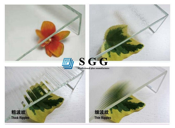 7mm U shaped glass