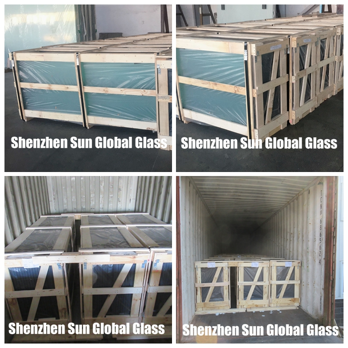 glass packing and loading
