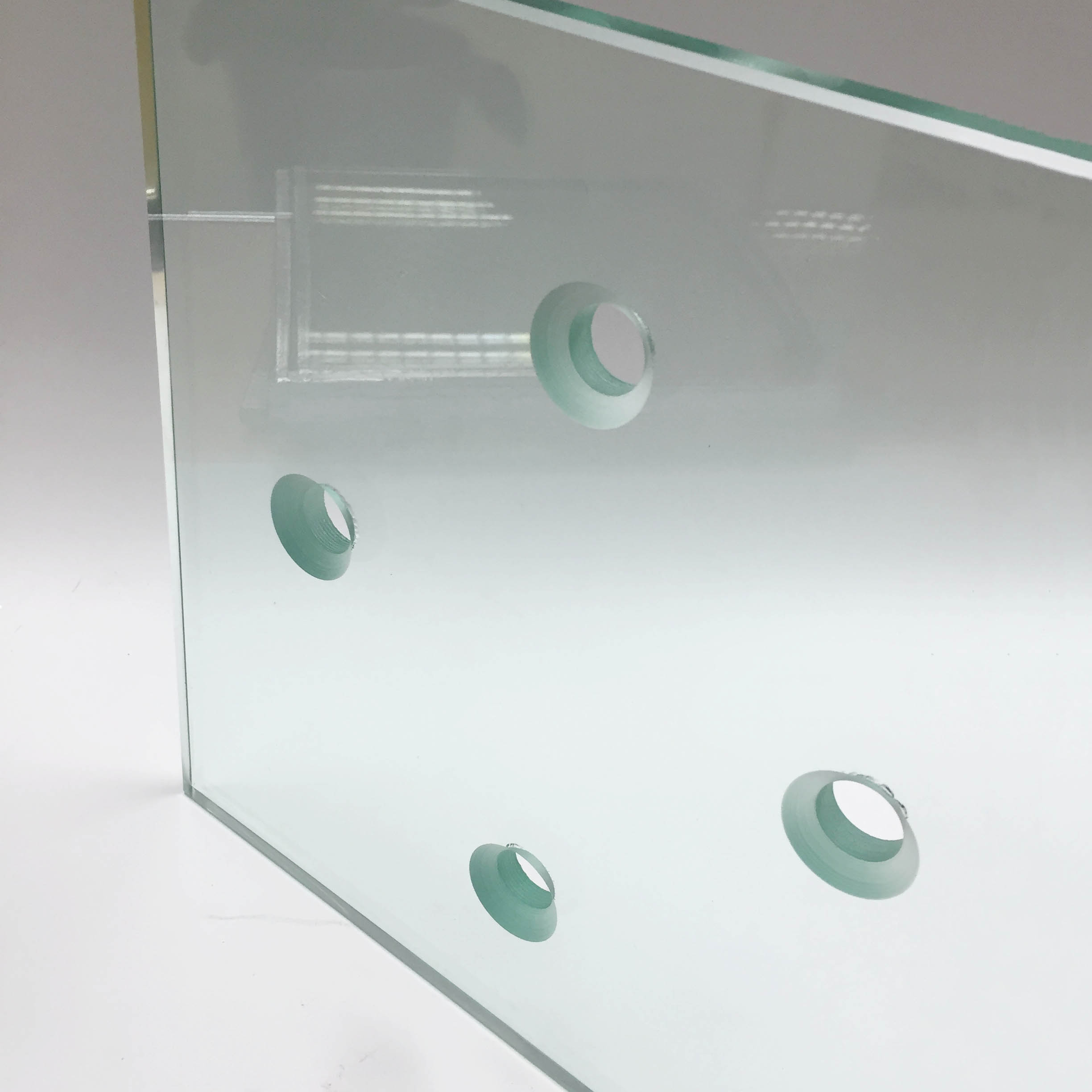 clear tempered glass 12mm