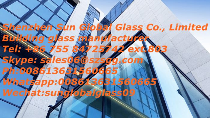 Building glass manufacturer,architectural glass supplier