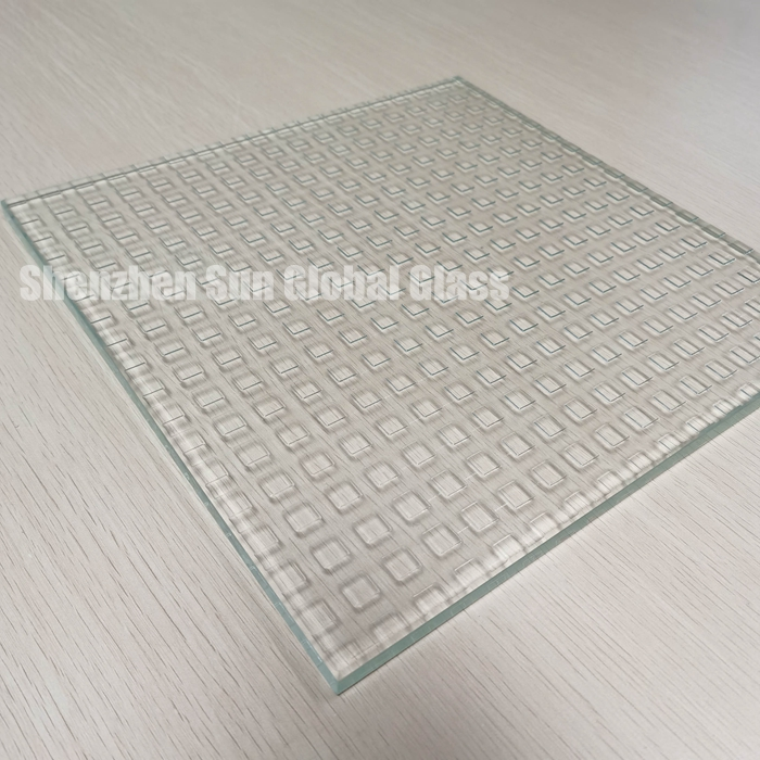 anti non slip  resistance glass