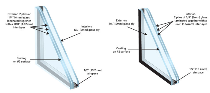 laminated insulating glass