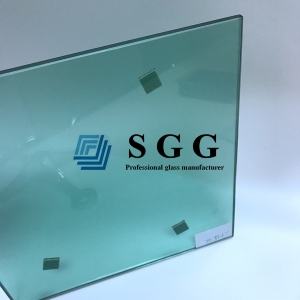 10MM French Green Tinted Tempered Glass, 10MM Light Green Colored Tempered Glass, 10MM French Green Safety Toughened Glass