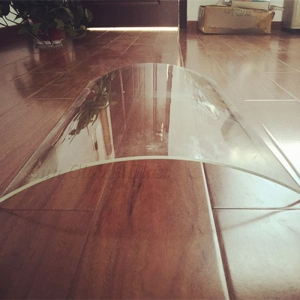 10mm Bent Ultra Clear Glass, 10mm Curved Tempered Extra Clear Glass, 10mm Low Iron Tempered Bent Glass