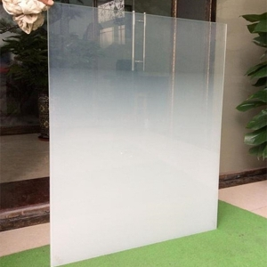 10mm ultra clear gradient tempered glass,10mm Low iron gradient tempered glass ,10mm gradient digital printed glass