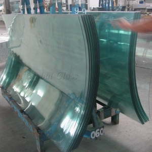 12mm Curved Tempered Glass China Price 12mm Bent Tempered