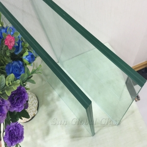 13.52 mm clear heat strengthened laminated glass China factory, custom shape & size 13.52 mm Clear tempered sandwich glass manufacturer
