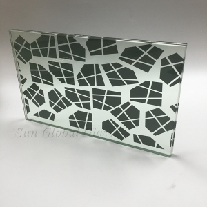 15mm silkscreen glass manufacturer China, 15mm silk screen glass factory wholesale prices, colorful 15mm silkscreen print tempered glass supplier in China