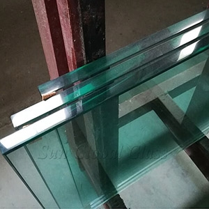 15mm clear half tempered glass wholesale, HS toughened glass panel, 15mm heat strength tempered glass in china