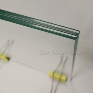 16.89mm hurricane resistant laminated glass,8mm+0.89mm+8mm sgp laminated glass,sentryglas glass for balcony railing