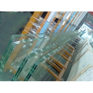 19mm flat toughened glass fence, 19mm flat tempered glass railing, 19mmtoughened tempered glass