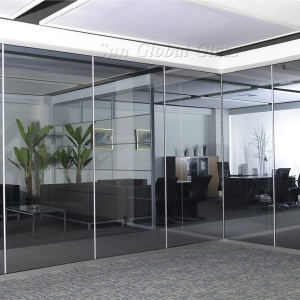 19mm toughened safety glass partition,19mm tempered ESG glass partition,19mm interior tempered glass partition wall