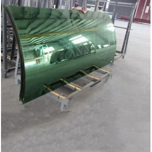 21.52MM Curved Tempered laminated  Glass,, 10104  Bent Laminated Glass, 21.52MM Heat Soak Bent Toughened Laminated Glass