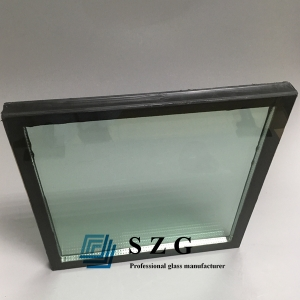 25mm insulated glass,25mm energy saving low e insulated glass,8mm+9a+8mm sound and heat insulation hollow glass