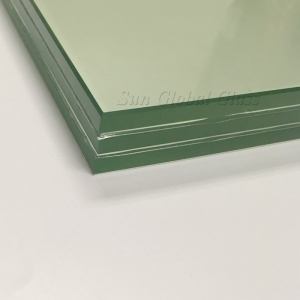 39.04mm toughened laminated glass,triple glazed laminated glass,36mm three layers tempered laminated glass manufacturers