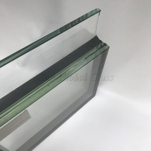 42.52mm Low E Laminated Double Glazing Glass, 42.52mm  Low E Laminated Insulating Glass, 17.52mm Half Tempered Low E Laminated Glass+15A+10mm HST Clear Tempered Glass