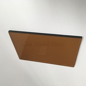 4mm dark bronze tinted float glass ,4mm gold bronze glass,4mm bronze tinted float glass