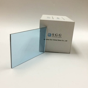 5 mm light blue tinted float glass,light blue float glass in stock,ford  blue tinted float glass manufacturer