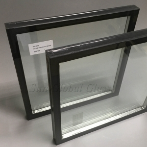 5mm+5mm tempered insulated glass, 5mm+5mm safety sound proof glass, clear toughened double glazing